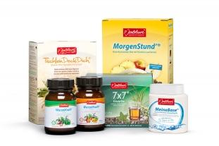 Die Hauptprodukte der Firma P. Jentschura