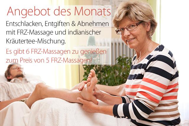 Frühjahresangebot: 6 FRZ-Massagen zum Preis von 5!
